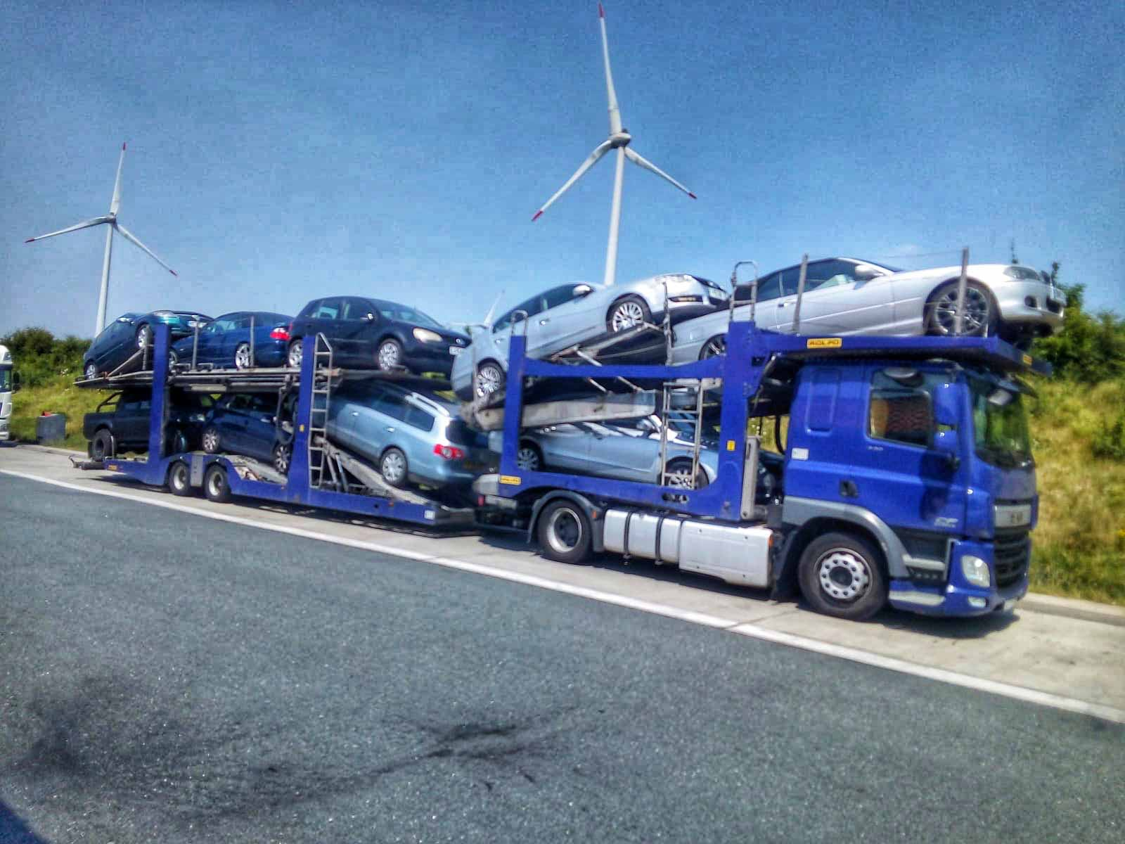 Transport auto masini pe platforma anglia germania belgia cehia slovacia