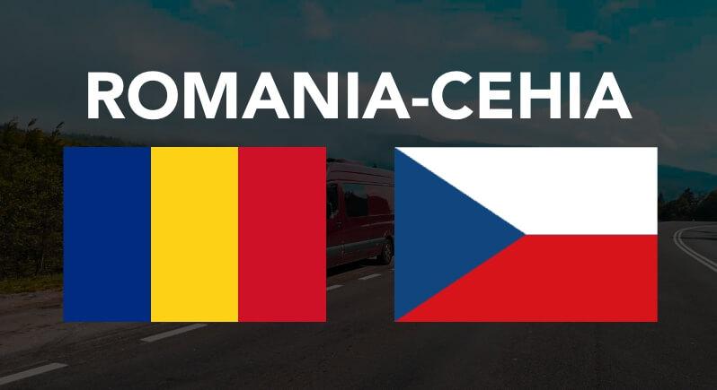 Transport persoane colete masini pe platforma animalute Romania Cehia