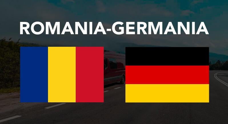 Transport persoane colete masini pe platforma animalute Romania Germania