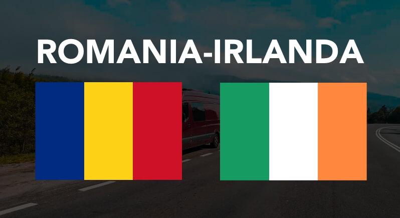Transport persoane colete masini pe platforma animalute Romania Irlanda
